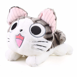 Wholesale cute animals videos - 20cm Kawaii Chi Cat Plush Toys Cute Chi Cat Stuffed and Soft Animal Dolls Stuffed Plush Animals Toy Birthday Gift for Kids