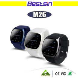 Wholesale Free Mobile Homes - M26 Smart Watch Wireless Blurtooth Wearable Smart Watch Sport Watch for Android IOS Mobile Phone with Retail Box Free Shipping