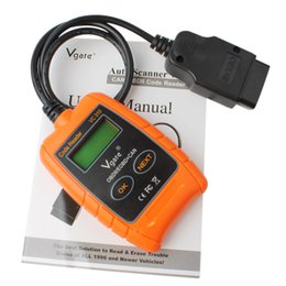 Wholesale chevy scan tool - Practical Vgate VC310 Compact Universal ODB2 Auto Scan Error Scanner Code Reader Car Diagnostic Tool CDT_002