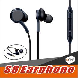 samsung bluetooth casque fil Promotion Pour Samsung GALAXY S8 S8 + plus Écouteurs stéréo avec écouteurs Écouteurs de haute qualité avec casque intra-auriculaire câblé Non Logo