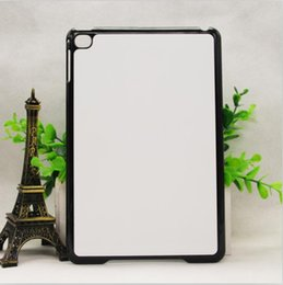 Wholesale Diy Ipad Case - White Transparent Black 2D Sublimation Case Cover for Ipad Pro DIY Blank Heat Transfer Ipad Cover with Aluminum Plates