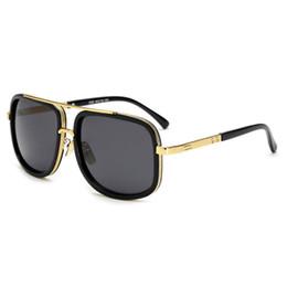 Óculos de sol de festa de design on-line-Marca de design de moda homens óculos de sol popular quadrado unisex colorido óculos de sol clássico de viagem do partido ao ar livre óculos de sol do vintage atacado