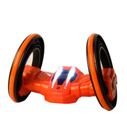 Wholesale Rc Stunts - RC Vehicle with LED Headlights Double-sided Tumbling Extreme High Speed 360 Degree Rolling Rotating Rotation Race Stunt Car