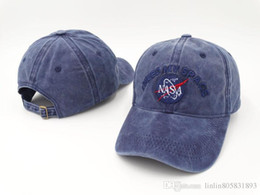 Wholesale Cream Patterns - New pattern NEEDS MY SPACE NASA Meat Ball 6 god Embroidered Cotton Lovers hat snapback Baseball cap 4 Colors FREE casquette SHIP ca