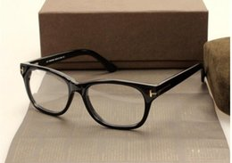 Wholesale Model Eyeglasses - Classic Retro Clear Lens Optical Frames Glasses Brand Designer Men Women Eyeglasses Model 5147 Vintage Plank Spectacle Myopia Eyewear Frame