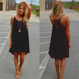 Wholesale Cheaper Plus Size Dresses - Free size Mesh dress Fashion dress Women Braces skirt Backless Casual Dresses 2017HOTColorful Cheaper Pure color
