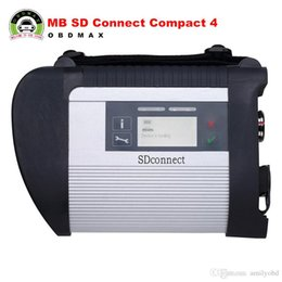 Wholesale Mb Star Diagnosis System - MB SD Connect Compact 4 with 2017.3 software Star Diagnosis with WIFI for Cars and Trucks
