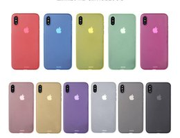 Wholesale Iphone Flexible Case - for Iphone X 0.3mm Ultra Slim Thin Matte Frosted Clear Transparent PP Cases for Iphone 8 7 6 plus Flexible Back Covers