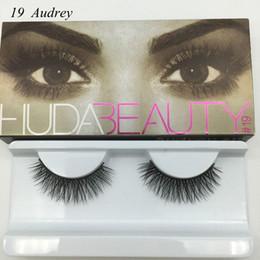 Wholesale Wholesale Professional Mink Eyelashes - Wholesale- Professional Makeup Bigeye Eyelashes Handmade 3D MINK Natural False Eye Lashes Messy Cross Thick Fake Eye Lashes