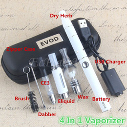 Wholesale Globe Herb - 4in1 Vaporizer kit vape pen included 510 oil cartridge mt3 eliquid globe glass wax ago dry herb atomizers all in 1 starter kits