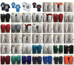 Wholesale Teams Name - New American Football Custom Jerseys All 32 Teams Customized Sewn On Any Name Any Number S-4XL Mix Match Order men womens kids Jerseys