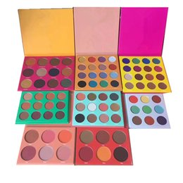 Wholesale Full Place - STOCK 12 Color Fashion Women Place Yellow PURPLE WHITE RED Eye Shadow Highlight Palette Makeup Matte Nake Eyeshadow free shipping