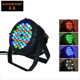 Wholesale Par Can Bulb - TIPTOP 54pcs*3w RGBW LED Par 64 Light Waterproof Type,DMX 512,8Channels Led Par Cans,IP 65 Rate Led Stage Light 90V-240V Par
