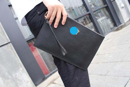 Wholesale Envelope Bag Leather Men - Men Clutch Bags Genuine Leather Man Fashion Bags High Quality Cowhide Soft Surface Luxurious Brand Design of Fine Handmade Car Line IT2017