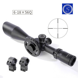 Wholesale Focus St - Tactical Scopes ST 6-18X56FFP Scope Side Focus Black 30mm Tube Diameter Hunting Scope Free Shipping CL1-0355