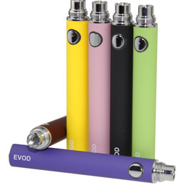 Wholesale Ego Kit Series - EVOD Battery for e cigs 650mah 900mah 1100mah fit all series eGo CE4 CE5 MT3 Kit