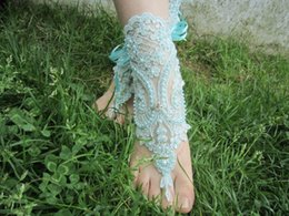 Wholesale Cheap Barefoot Sandals - Hot Sale Pearl Anklets Wholesale Sandbeach Barefoot Sandals Cheap Stretch Leg Bracelets For Wedding Bridal Bridesmaid Foot Jewelry