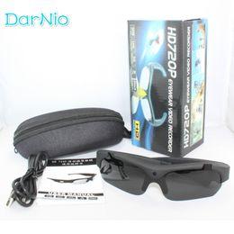 Wholesale Sports Hd Sunglasses Spy Camera - Wholesale- Exclusive 1080P HD Digital Audio Video Camera DVR Sunglasses fashion Sport Camcorder cam Recorder DV For Driving Outdoor spy