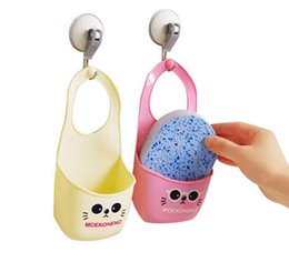 Wholesale Toilet Soap Wholesalers - Toilet soap shelf Organizer wash cloth Sponge storage rack basket kitchen gadgets Accessories Supplies Items Product G422