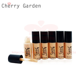Wholesale Full Body Makeup - Face Body Foundation Makeup Sample Size 5ML Waterproof Natural Concealer Cream Base Cosmetics Maquiagem Maquillaje MF016