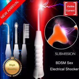 Wholesale Medical Fetish - Electric Shock Sex Products Electro Full Body Massage Stimulator Fetish Medical Themed Sex Toys For Couples Flirting CP5503