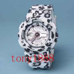 Wholesale Women Sports Watch Waterproof - AAA Top Quality luxury BABY Women sport watch LED watches Waterproof watches G woman watches with Box