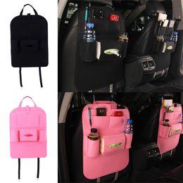 Wholesale Car Seat Covers Storage - Auto Car Back Seat Boot Organizer Car Felt Covers Back Seat Organizer Insulation Versatile Multi-Pocket Storage Container Bag
