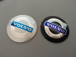 Wholesale Volvo Hub Cap - 56.5mm 3D Car Badge Wheel Center Hub Cap Sticker Durable Logo Brand Emblem Car Accessory Anti Fade Wheel Decoration Fit For Volvo