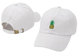 Ананасовый стиль онлайн-2017 новый стиль кости изогнутые козырек Casquette бейсболка женщины gorras медведь папа ананас шляпы для мужчин хип-хоп Snapback шапки высокое качество