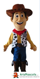 Wholesale Toy Story Cartoon Characters Costumes - 100% real photos New Toy Story Woody Dress mascot suit cartoon character mascots fancy dress costumes kids carnival party dress