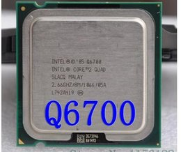 Wholesale Quad Core Processor 775 - Wholesale- Q6700 Core 2 Quad Processor 2.66GHz 8MB Quad-Core FSB 1066 Desktop LGA 775 CPU