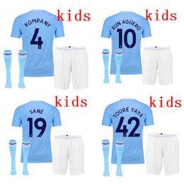 ca58a1910 youth DZEKO KOMPANY DE BRUYNE kids home city football maglia 17 18 man ...