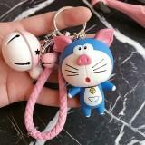 Wholesale New Arrival Product Ring - Doraemon Korea lovely creative key chain ring buckle men ladies car bag hanger new arrival product