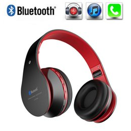 Wholesale Bluetooth Headset Pc Mobile - Newest Sport Bluetooth 4.0 Headphone Wireless Stereo Noise Canceling With Microphone Gaming Earphone Support TF FM For All Mobile Phones PC
