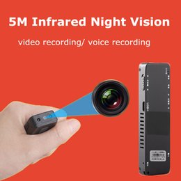 Wholesale Digital Camera Smallest - Super Small HD 480P Mini Camera Camcorder Portable Hidden Spy Camera Wireless Digital Video Recorder with Infrared Night Vision