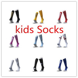 Wholesale Youth Skis - 2017 2018 kids Socks Real madrid soccer Sports Socks youth boy RONALDO white Black JAMES BALE RAMOS ISCO MODRIC football Socks