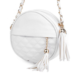 Wholesale Mini Cute Cell Phone - Candy Colors small women cute shoulder bags black round plaid mini bag girl tassel chain ladies leather crossbody bags