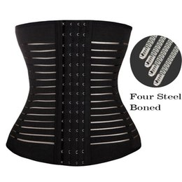 Wholesale Wholesale Waist Trainer Weight Loss - Wholesale- Hot Postpartum Belly Band Weight Loss Body Wrap Tummy Wrap Corset Girdle Women Body Shaper Belly Belt Girdles Faja Waist Trainer