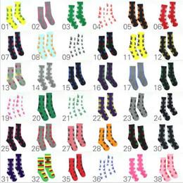 Wholesale Huf Plantlife Sock - 38colors Crew Socks Skateboard hiphop socks Leaf Maple Leaves Stockings Cotton Unisex Plantlife leaves Socks 100% Brand New christmas sox