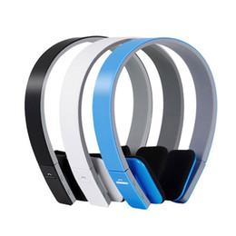 Wholesale Wireless Navigation - BQ-618 Wireless Bluetooth V4.1+EDR Headset headphones Support Handsfree with Intelligent Voice Navigation for Cellphones Tablet