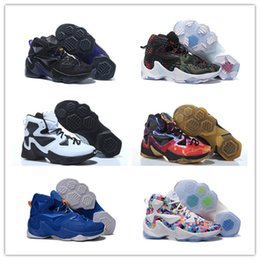 Wholesale Limited Edition Sneakers Man - Wholesale lb13 XIII Christmas Men Basketball shoes jame 13s black Limited Edition sports shoes sneakers trainers high quality size 7-12