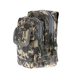 Wholesale Nylon Key Pouch - X-2 Multi-use Camouflage Waist Bag Molle Pouch Phone Coins Key Pack Hunting Hiking Camping Outdoor Sports