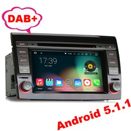"Wholesale Dvd Gps Fiat Bravo - 7"" Car DVD GPS For Fiat Bravo Android 5.1 Quad core DAB+ 3G OBD DTV DVR-IN Stereo Radio Wifi Mirror Link"