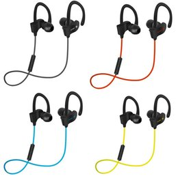 sport headphones microphone Coupons - Professional Sports 4.1 bluetooth headphones Wireless Ear Hook Type Stereo Headset With Volume Control+Microphone For Jogging Travelling