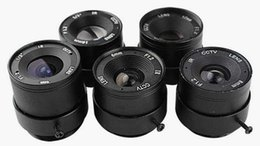 Wholesale Cctv Lens 6mm - Security CCTV Camera HD 3MP CS Lens 4mm 6mm 8mm 12mm 16mm Fix Focus Big Lens Use for CCTV Analog AHD IP and Other All Kind Camera 10PCS Lot