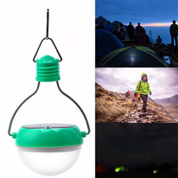 Wholesale Solar Indoor Reading Lights - Solar Lamps Solar Camping Lantern 7LED Lighting Bulb Solar Hanging Lights Outdoor Camping Lights Reading Light Waterproof Portable Lanterns