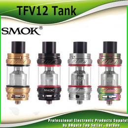Wholesale Sub 12 - Original SMOK TFV12 Tank Cloud Beast King 6.0ml Top Refilling Sub Ohm TFV 12 Atomizer Fit V12-T12 V12-X4 V12-Q4 Coils100% Genuine SmokTech