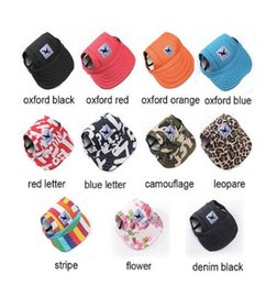 Wholesale Dog Hats For Sale - TAILUP 2017 Hot Sale Sun Hat For Dogs Cute Pet Casual Cotton Baseball Cap Chihuahua Yorkshire Pet Products 11Colors 679