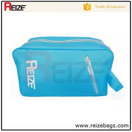 Wholesale Swimwear Box - REIZE China supplier eco-friendly swimwear ziplock stand up plastic bag