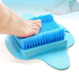 Genkent Fußmassagegerät Therapie Pinsel Schmerzlinderung Akupunktur Füße Entspannen Borsten Pinsel Gesundheitspflege Werkzeug Entfernen Sie TOTEN HAUT von Fabrikanten